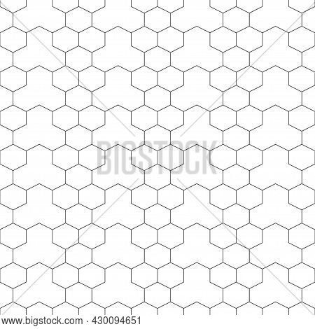 Vector Seamless Pattern. Abstract Textured Background. Modern Stylish Geometrical Texture. Regularly