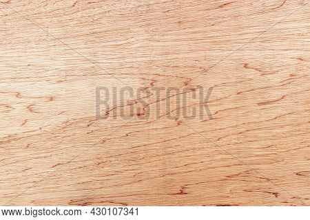 Top View Of Natural Wood Grain Plywood Texture, Soft Brown Wood Texture With Beautiful Natural Wood