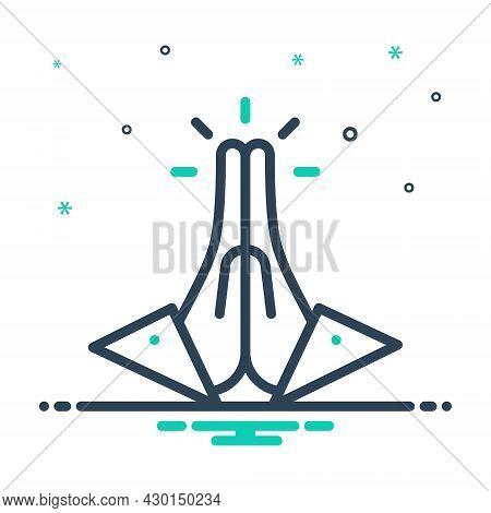 Favor Pray Implore Faith Worship Venerationfavor Pray Implore Faith Worship Veneration