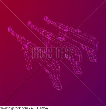 Submachine Gun German Mp 40 World War 2 Firearms Pistol