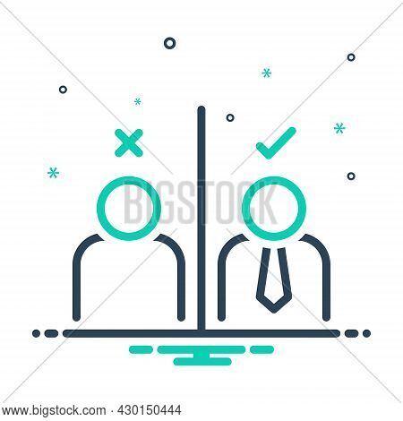 Mix Icon For Impression Consequence Effect Feeling Reaction Select Response Result Impact Suspicion