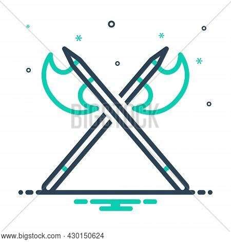 Mix Icon For Battle Armed-conflict Struggle Crusade Ancient Sword Premodern Scimitar Saber