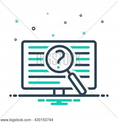 Mix Icon For Often Oftentimes Generally Regularly Repeatedly Frequently Investigate Digital Identify