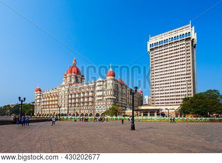 Mumbai, India - February 21, 2014: Taj Mahal Palace Hotel Is A Five Star Luxury Hotel In Mumbai City