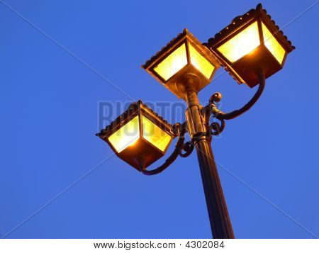 Old Style Streetlamp