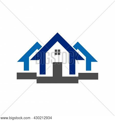 House Logo Vector Design Illustration. House Icon Simple Sign. Trendy And Modern House Logo. House L