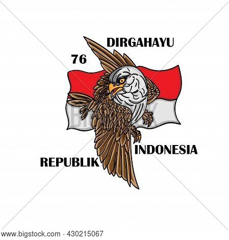 Garuda Independence Day Indonesian Flag. Flag Symbol Indonesian Country