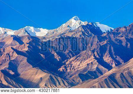 Stok Kangri Is The Highest Mountain In The Stok Range Of The Himalayas Near Leh In The Ladakh Region