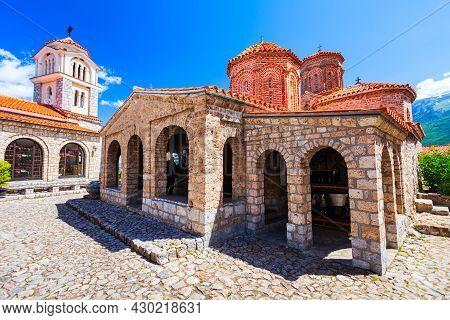 Monastery Of Saint Naum Or Sveti Naum Is An Eastern Orthodox Monastery Near Ohrid City In North Mace