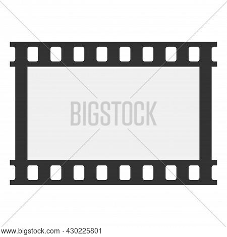 Slide Film Frame, Vector Wide Film Frame. Film Frame Background With Space For Your Text Or Image. T