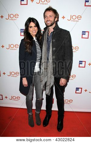 LOS ANGELES - MAR 7:  Nikki Reed, Paul McDonald arrive at the introduction of Joe Fresh at JCP at the Joe Fresh at JCP Pop Up Store on March 7, 2013 in Los Angeles, CA