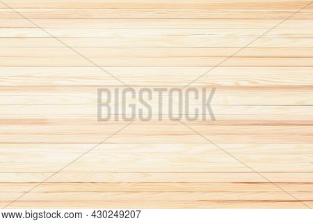 Wooden Rustic Table Texture. Light Wooden Texture Planks Background. Wood Boards Panel Wall