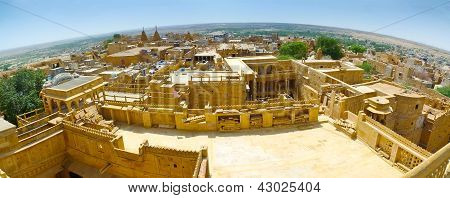 Jaisalmer Fish-eye Panorama