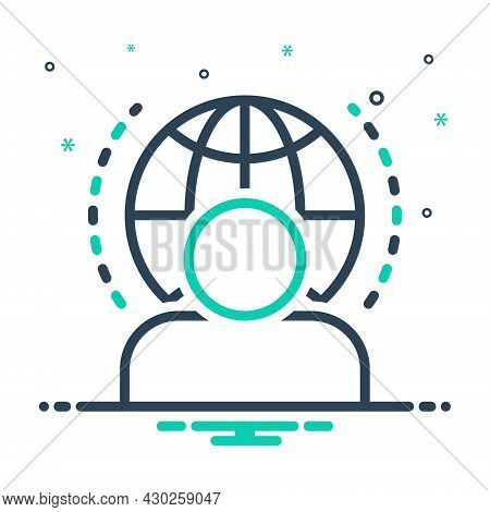 Mix Icon For Visitor Guest Tourist Traveler Vacationer Pilgrim Clients Male Paying-guest