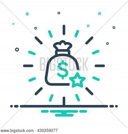 Mix Icon For Incentive Boost Bonus Superprofit Fillip Encouragement Incentive Bag Wealth Piles