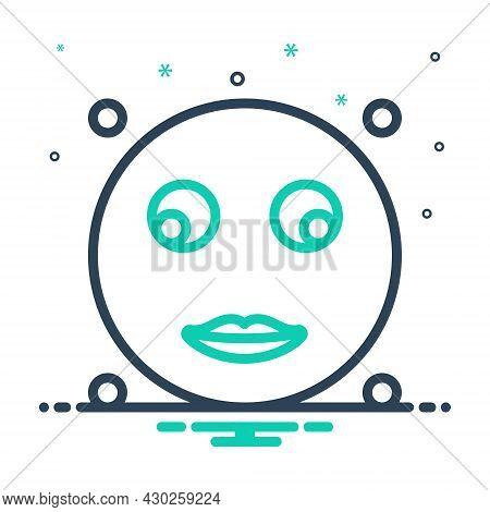 Mix Icon For Glance Look-briefly Glimpse Peep Scintilla Emoji