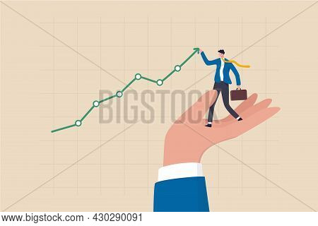 Drive Sale Increasing Profit, Business Growth Planning, Support Or Help To Increase Income Or Profit