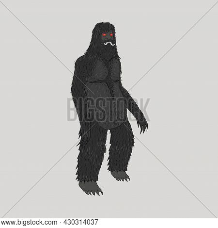 Big And Black Indonesian Ghost