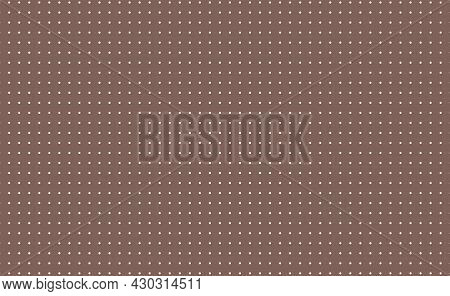 Grid Paper. Dotted Grid On White Background. Abstract Dotted Transparent Illustration With Dots. Col