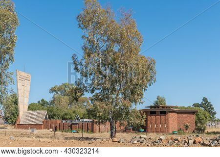 Aliwal North, South Africa - April 23, 2021: The Boer War Consentration Camp Memorial In Aliwal Nort