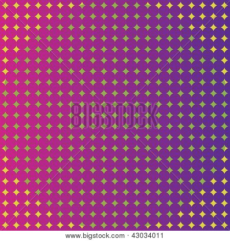 Seamless vector pattern, background with dots
