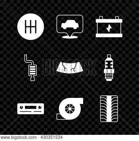 Set Gear Shifter, Car Service, Battery, Audio, Automotive Turbocharger, Tire Wheel, Muffler And Brok