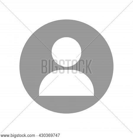 Default Avatar Profile Icon Vector. Social Media User Image. Vector Illustration