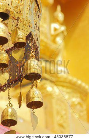 Old Brass Buddhist Bells