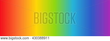 Rainbow Color Gradient Background. Vector Pattern Multicolor