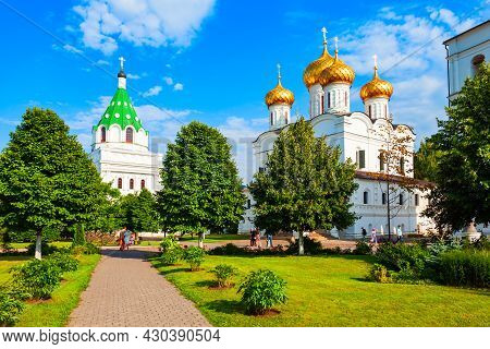Ipatievsky Monastery Or Ipatiev Monastery Or Hypatian Is A Male Monastery On The Kostroma River Bank