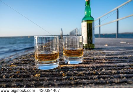 Drinking Single Malt Scotch Whisky At Sunset With Sea, Ocean Or River View, Private Whisky Tours In
