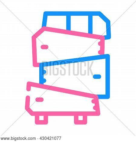 Non-standard Furniture Color Icon Vector. Non-standard Furniture Sign. Isolated Symbol Illustration