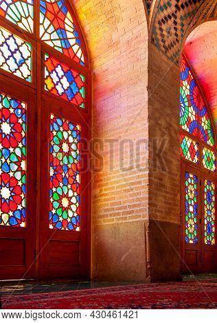Nasir-ol-molk Mosque In Shiraz Iran