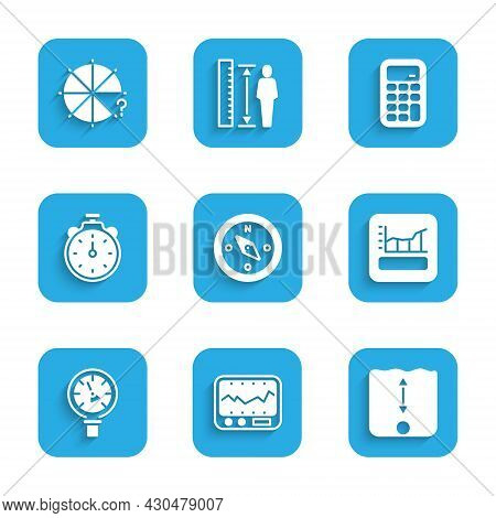 Set Compass, Measuring Instrument, Depth Measurement, Graph, Schedule, Chart, Diagram, Pressure Wate