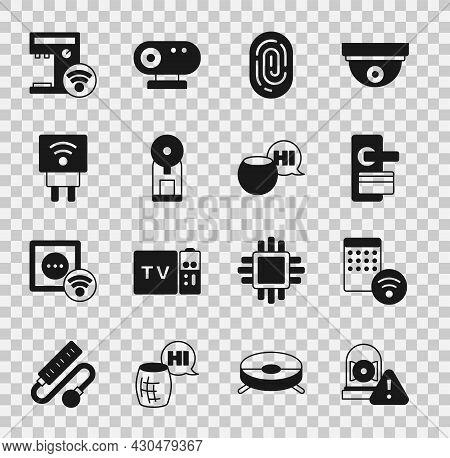 Set Ringing Alarm Bell, Air Humidifier, Digital Door Lock, Fingerprint, Smart Coffee Machine, Electr