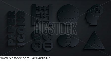 Set Mathematics Sets A And B, Function Mathematical Symbol, Calculator, Geometric Figure Tetrahedron
