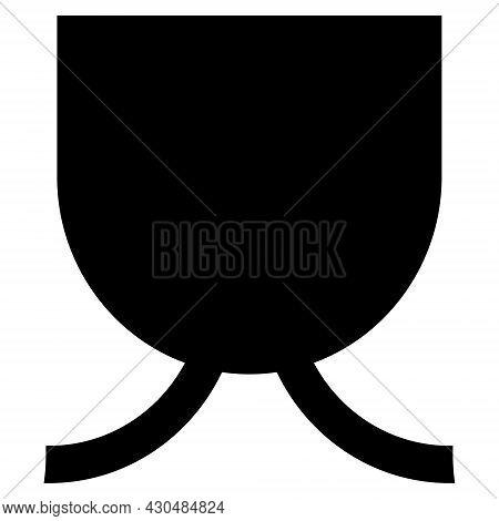 Full Mug Icon With Flat Style. Isolated Vector Full Mug Icon Image On A White Background.