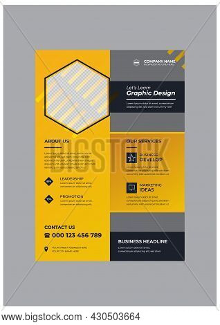 Classic Corporate Business Agency Flyer Design Template