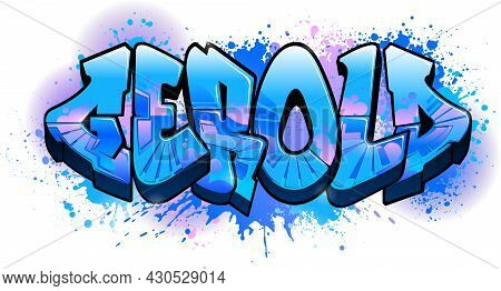 Graffiti Styled Name Design - Gerold    Cool Legible Graffiti Art