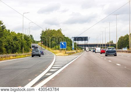 Motorway Driving View