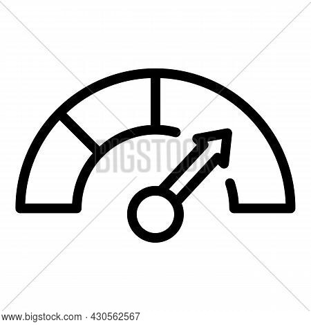 Level Of Management Icon Outline Vector. Job Project. Online Business