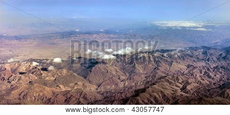 The Baba Mountain range of the Hindu Kush between Kabul and Kandahar in Afghanistan poster