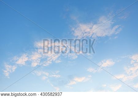 Cirrus Clouds In The Daytime , High On The Sky