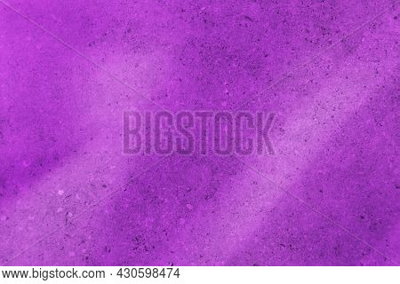 Purple Textured Concrete Wall Background. Colorful Texture