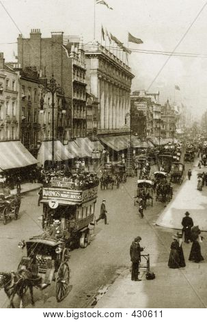 Oxford Street, London, In Victorian Times