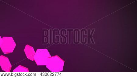 Purple Texture, Blue Purple Background. Abstract Pink Background For Designer. Blurred Copy Spase.