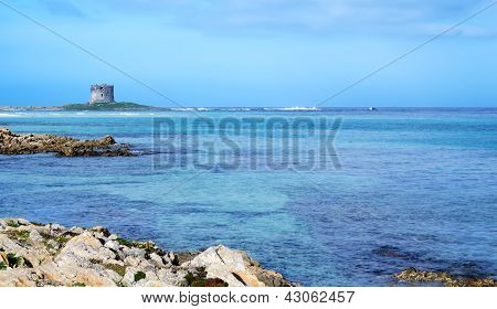 Rocks And Tower