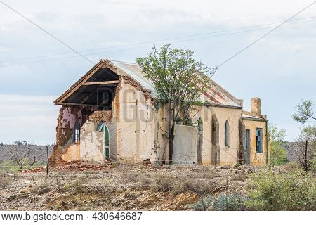 The Ruins Of An Old Church In Mount Stewart In The Eastern Cape Province