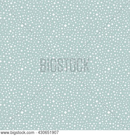 Seamless Geometric Vector Pattern. Modern Ornament With White Squares. Geometric Abstract Pattern