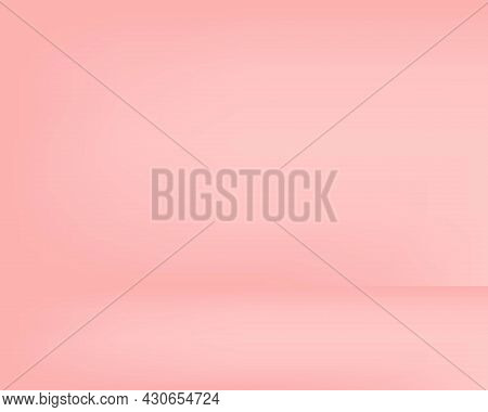 Pink Mockup Pastel Sweet Pink Background Gives A Smooth, Soft, Pleasant Feeling